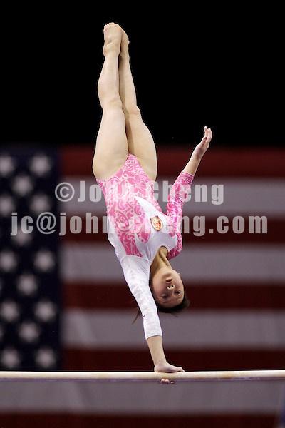 03/02/07 - Photo By John Cheng - Tyson American Cup Qualifying Round - Zhou Zhuoru of China.
