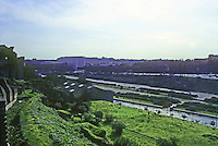Italy: Rome--Circus Maximus from Palatine Hill. Photo '82.