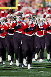 The Wisconsin Badgers marching band performs on the field prior to the 2012 Rose Bowl NCAA football game against the Oregon Ducks in Pasadena, California on January 2, 2012. The Ducks won 45-38. (Photo by David Stluka)