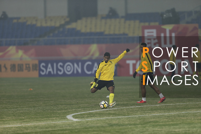 Saudi Arabia vs Malaysia during the AFC U23 Championship China 2018 Group C match at Kunshan Sports Center on 16 January 2018, in Kunshan, China. Photo by He Wang / Power Sport Images