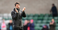 Lincoln City manager Danny Cowley applauds the fans at the final whistle<br /> <br /> Photographer Chris Vaughan/CameraSport<br /> <br /> The EFL Sky Bet League Two - Lincoln City v Crewe Alexandra - Saturday 6th October 2018 - Sincil Bank - Lincoln<br /> <br /> World Copyright &copy; 2018 CameraSport. All rights reserved. 43 Linden Ave. Countesthorpe. Leicester. England. LE8 5PG - Tel: +44 (0) 116 277 4147 - admin@camerasport.com - www.camerasport.com