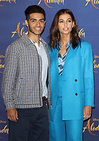 Mena Massoud,Naomi Scott  at the 'Aladdin' Cast Photocall in the Rosewood Hotel, Holborn, London on May 10th 2019<br /> CAP/ROS<br /> &copy;ROS/Capital Pictures