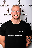 Corey Main. Swimming New Zealand Gold Coast Commonweath Games Team Announcement, Owen G Glenn National Aquatic Centre, Auckland, New Zealand,Friday 22 December 2017. Photo: Simon Watts/www.bwmedia.co.nz