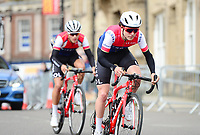 Picture by Simon Wilkinson/SWpix.com 15/04/2018 - Cycling HSBC UK British Cycling Spring Cup Road Series - Chorley Grand Prix 2018 - Tom Piddock Wiggins
