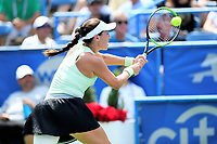 Washington, DC - August 4, 2019: Jessica Pegula (USA) reaches out to return the ball against Camila Giorgi (ITA)  NOT PICTURED during the WTA Citi Open Woman's Finals at Rock Creek Tennis Center, in Washington D.C. (Photo by Philip Peters/Media Images International)