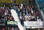 Stockholm 2014-01-18 Ishockey SHL AIK - F&auml;rjestads BK :  <br /> F&auml;rjestad supportrar p&aring; plats p&aring; Hovet<br /> (Foto: Kenta J&ouml;nsson) Nyckelord:  supporter fans publik supporters