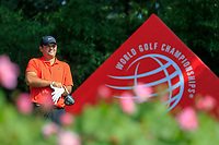 Patrick Reed (USA) on the 2nd tee during the 2nd round of the WGC HSBC Champions, Sheshan Golf Club, Shanghai, China. 01/11/2019.<br /> Picture Fran Caffrey / Golffile.ie<br /> <br /> All photo usage must carry mandatory copyright credit (© Golffile   Fran Caffrey)