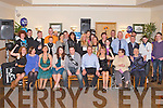 21ST BIRTHDAY: Robbie Hurley, Tonevane (seated centre) enjoying a great time celebrating his 21st birthday with family and friends at the Kerins O'Rahillys clubhouse, Tralee on Saturday.........