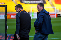 Brisbane head coach Robbie Fowler during the A-League football match between Wellington Phoenix and Brisbane Roar at Westpac Stadium in Wellington, New Zealand on Saturday, 23 November 2019. Photo: Dave Lintott / lintottphoto.co.nz