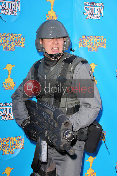 Cosplayer<br /> at the 41st Annual Saturn Awards, The Castaway, Burbank, CA 06-25-15<br /> David Edwards/Dailyceleb.com 818-249-4998