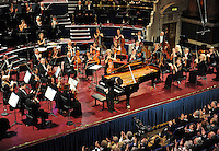PICTURE BY SIMON WILKINSON/SWPIX.COM - Leeds International Piano Competition 2012 - Leeds Town Hall, Leeds, England - 14/09/12 - Louis Schwizgebel of Switzerland.