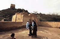 Vereinigte arabische Emirate (VAE, UAE), Fujairah, Bidyah Moschee in Al Badiyah, 15.Jh.