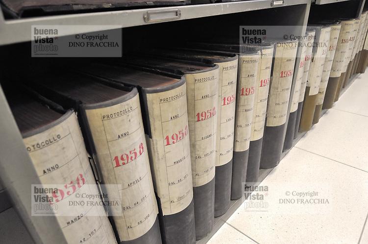 - Archivio generale dei documenti del Comune di Milano<br /> <br /> - General archive of documents of the Milan Municipality