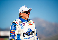 Feb 7, 2018; Pomona, CA, USA; NHRA funny car driver John Force during media day at Auto Club Raceway at Pomona. Mandatory Credit: Mark J. Rebilas-USA TODAY Sports