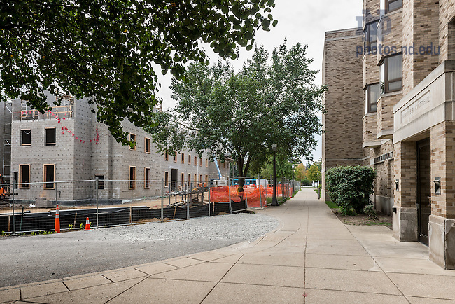 Sept. 28, 2015; Flaherty Hall construction. (Photo by Matt Cashore/University of Notre Dame)