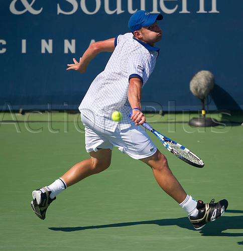 20.08.2010. Andy Roddick (USA) defeats Novak Djokovic (SRB)  at the Western and Southern Financial Group Masters Series in Cincinnati.  Roddick won, 6-4, 7-5.