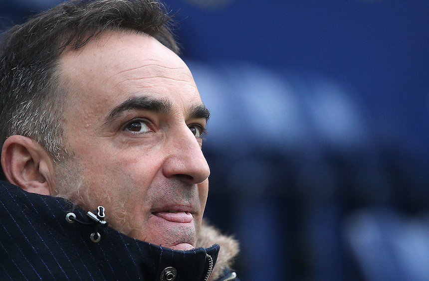 Sheffield Wednesday's Head Coach Carlos Carvalhal<br /> <br /> Photographer Mick Walker/CameraSport<br /> <br /> The EFL Sky Bet Championship - Preston North End v Sheffield Wednesday - Saturday 31st December 2016 - Deepdale - Preston<br /> <br /> World Copyright &copy; 2016 CameraSport. All rights reserved. 43 Linden Ave. Countesthorpe. Leicester. England. LE8 5PG - Tel: +44 (0) 116 277 4147 - admin@camerasport.com - www.camerasport.com