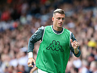 Leeds United's Ezgjan Alioski warms up<br /> <br /> Photographer Alex Dodd/CameraSport<br /> <br /> The EFL Sky Bet Championship - Leeds United v Nottingham Forest - Saturday 10th August 2019 - Elland Road - Leeds<br /> <br /> World Copyright © 2019 CameraSport. All rights reserved. 43 Linden Ave. Countesthorpe. Leicester. England. LE8 5PG - Tel: +44 (0) 116 277 4147 - admin@camerasport.com - www.camerasport.com