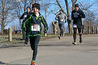 The 2015 Barnesville Park Rotary Lake 5K walk/run, Barnesville, Ohio March 28, 2015.