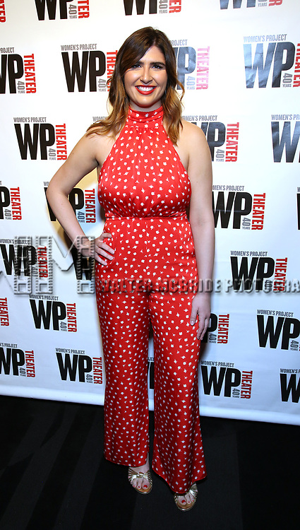 Emily Warren attends the WP Theater's 40th Anniversary Gala -  Women of Achievement Awards at the Edison Hotel on April 15, 2019  in New York City.
