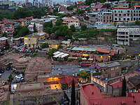 Orbeliani-Bad Orbelianis Abano, Bäderviertel Abanotubani, Tiflis – Tbilissi, Georgien, Europa<br /> Orbeliani bath, thermal quarter Abanotuban, Tbilisi, Georgia, Europe