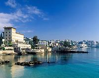 Spanien, Balearen, Mallorca, Cala Major: Kueste mit Hotel Miracel | Spain, Balearic Islands, Mallorca, Cala Major: coastline with Hotel Miracel