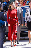 JUN 12 Queen Letizia Of Spain Attends Journalist's Seminar