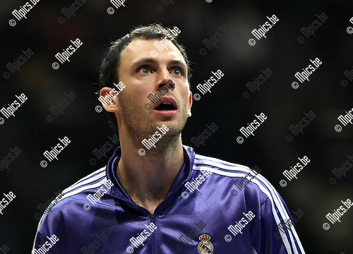2009-03-31 / Basketbal / Euroleague / Real Madrid - Olympiacos Piraeus / Thomas Van den Spiegel (Real Madrid)..Foto: Maarten Straetemans (SMB)