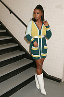 NEW YORK, NY - MARCH 13: Ryan Destiny of Fox TV's musical drama Star, backstage at The Wendy Williams Show in New York City on March 13, 2019. Credit: Walik Goshorn/MediaPunch<br /> CAP/MPI/WG<br /> &copy;WG/MPI/Capital Pictures