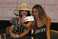 BOCA RATON, FL - FEBRUARY 08:  Actress, restaurateur and,Real Housewives of Beverly Hill star Lisa Vanderpump introduces fans to her newest venture Vanderpump Rose Wine on February 8, 2018 at Total Wine &amp; More in Boca Raton, Florida.<br /> <br /> <br /> People:  Lisa Vanderpump, Jenna Warner<br /> <br /> Transmission Ref:  MNC007<br /> Credit: Hoo-Me.com /MediaPunch