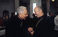 February 22, 1986. Havana Cuba. A meeting is held between the Cardinal Pironio and the Catholic Minister of Quito.