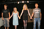"CURTAIN CALL: All My Children's Jeff Branson ""Jonathan Lavery"" stars in a new romantic comedy, My Life As You, with costars Kelli Porter, Ashley Wren Collins and Stuart Lopoten during soap night on September 15, 2006 at the Producers Club II, NYC.  (Photo by Sue Coflin/Max Photo)"