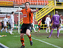 :: DUNDEE UTD'S JON DALY CELEBRATES AFTER HE SCORES THE SECOND FOR UNITED ::