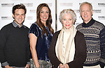 Ben Rappaport, Elizabeth Marvel, Ellen Burstyn & Reed Birney attending the Meet & Greet for the Roundabout Theatre Company's 'Picnic' at their rehearsal studios  in New York City. November 29, 2012.