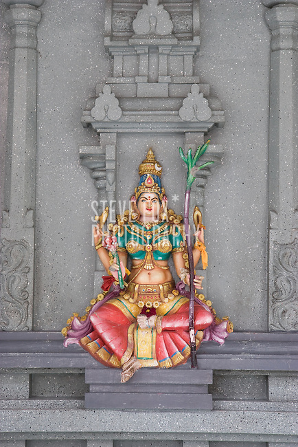 Mahamariamman Temple, Queen Street, George Town, Penang, Malaysia