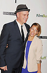 "BEVERLY HILLS, CA - NOVEMBER 27: Mike O'Malley and Vanessa Lengies arrive at the Los Angeles premiere of ""Certainty"" at the Lamelle Music Hall on November 27, 2012 in Beverly Hills, California."