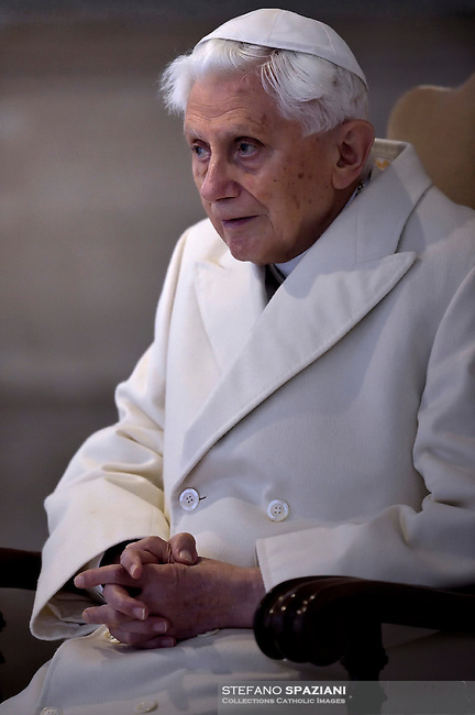 """Pope Benedict XVI;Pope Francis opens a """"Holy Door"""" at St Peter's basilica to mark the start of the Jubilee Year of Mercy, on December 8, 2015Pope Francis opens a """"Holy Door"""" at St Peter's basilica to mark the start of the Jubilee Year of Mercy, on December 8, 2015"""