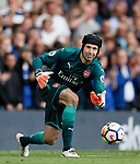 Arsenal's Petr Cech in action during the premier league match at Stamford Bridge Stadium, London. Picture date 17th September 2017. Picture credit should read: David Klein/Sportimage