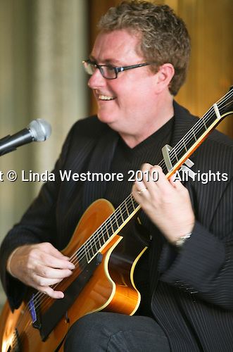 Martin Taylor, solo jazz guitarist, Petworth House, Petworth Festival, West Sussex.