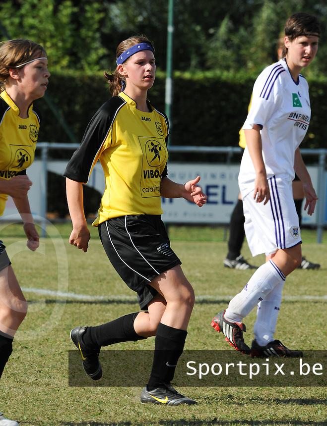 DVK Egem - RSC Anderlecht : Cyriana Salenbien.foto DAVID CATRY / Vrouwenteam.be