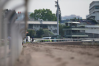 SHA TIN,HONG KONG-APRIL 25: Last strech of all weather track at Sha Tin Racecourse on April 25,2016 in Sha Tin,New Territories,Hong Kong (Photo by Kaz Ishida/Eclipse Sportswire/Getty Images)