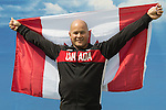 RIO DE JANEIRO - 6/9/2016:  David Eng of Wheelchair Basketball is names as Canada's flag bearer at the opening ceremonies flag bearer at the Paralympic Village at the Rio 2016 Paralympic Games. (Photo by Matthew Murnaghan/Canadian Paralympic Committee