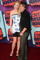 NASHVILLE, TN, USA - JUNE 04: Nicole Kidman, Keith Urban at the 2014 CMT Music Awards held at the Bridgestone Arena on June 4, 2014 in Nashville, Tennessee, United States. (Photo by Celebrity Monitor)