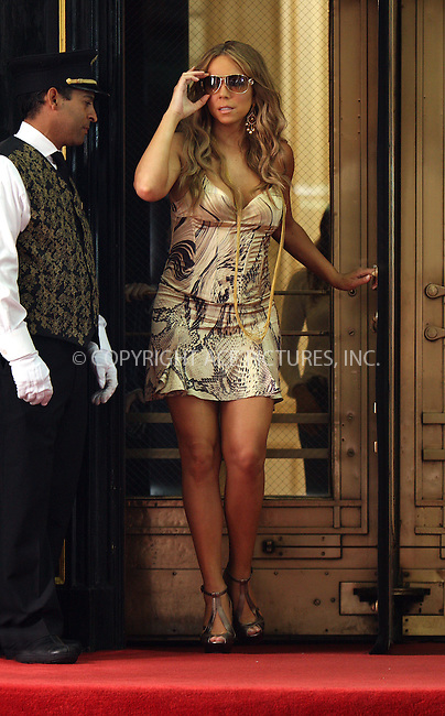 WWW.ACEPIXS.COM . . . . .  ....June 29 2009, New York City....Singer Mariah Carey on the set of  her new music video 'Obsessed' at The Plaza Hotel June 29, 2009 in New York City.....Please byline: AJ Sokalner - ACEPIXS.COM..... *** ***..Ace Pictures, Inc:  ..tel: (212) 243 8787..e-mail: info@acepixs.com..web: http://www.acepixs.com