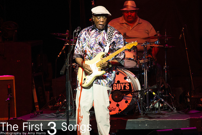 Buddy Guy performs at PNC Pavilion in Cincinnati, Ohio.