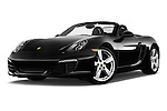 Stock pictures of low aggressive front three quarter view of2015 Porsche Boxster 2 Door Convertible Low Aggressive