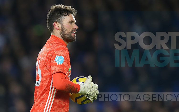 Watford's goalkeeper Ben Foster during the Premier League match at the American Express Community Stadium, Brighton and Hove. Picture date: 8th February 2020. Picture credit should read: Paul Terry/Sportimage