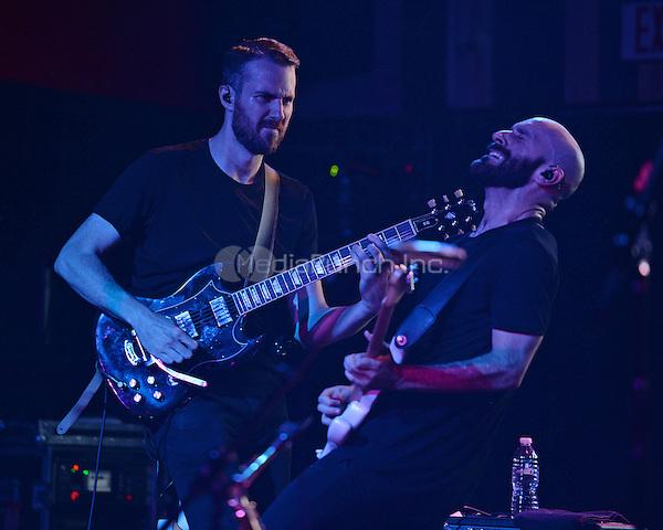 FORT LAUDERDALE FL - JUNE 09: Noah Feldshuh and Sam Harris of X Ambassadors perform at Revolution on June 9, 2016 in Fort Lauderdale, Florida. Credit: mpi04/MediaPunch