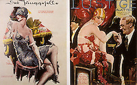 Weimar Culture:  Two popular journals, Der Junggeselle (The Bachelor) and Lustige Blatter (Funny Pages) , a humor and satire magazine.  Suzanne Everett, LOST BERLIN.  Reference only.