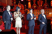 "Nicholas Ofczhrik, Naomi Campbell, Antonio Banderas and Ben Becker attending the ""20th Life Ball"" AIDS Charity Gala 2012 held at the Vienna City Hall. Vienna, Austria, 19th May 2012...Credit: Wendt/face to face /MediaPunch Inc. ***FOR USA ONLY**"